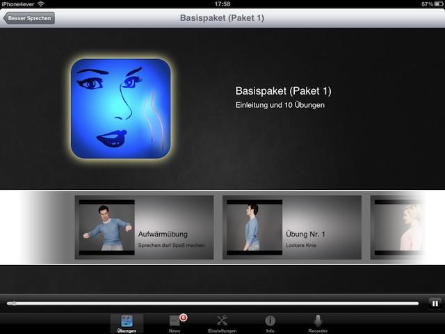 Besser Sprechen mit iPhone 4S App
