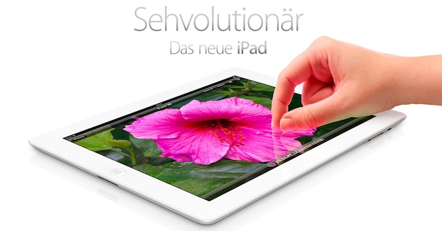 das neue ipad Sehvolutionär: das neue iPad