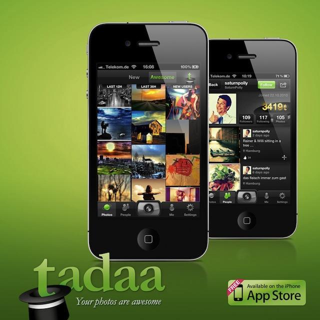 tadaa iPhone App 4.0