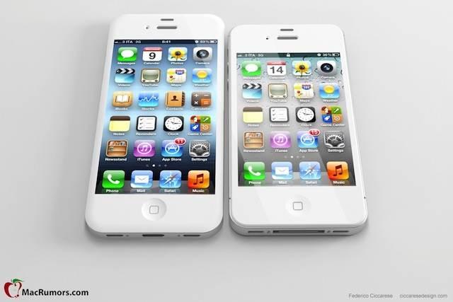 so k nnte das iphone 5 mit 4 zoll display aussehen iphone4ever. Black Bedroom Furniture Sets. Home Design Ideas