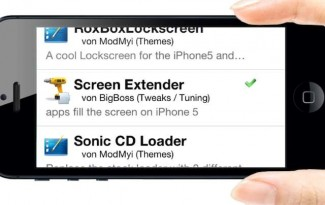 ScreenExtender iPhone 5