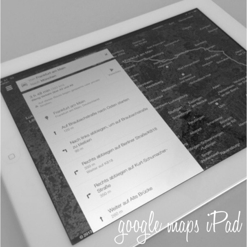 iPad navi maps 2.0