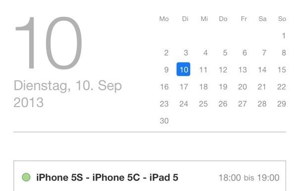 Apple iPhone 5s ipad 5