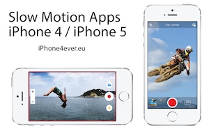 Slow motion iphone 4 iPhone 5