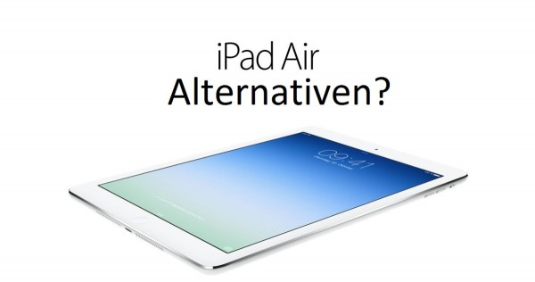 ipad air alternative