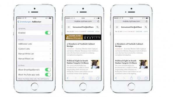 adBlocker iOS7 test