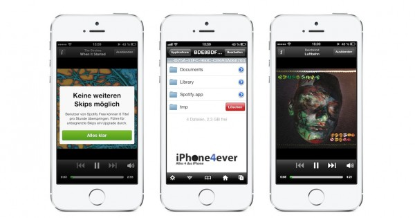 spotify iphone hack