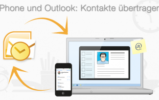 kontakte iphone zu outlook kopieren
