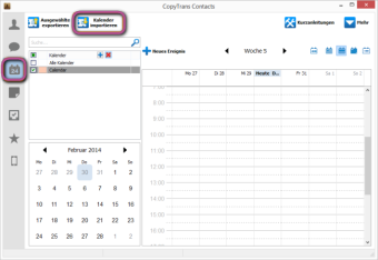 Outlook Kalender importieren