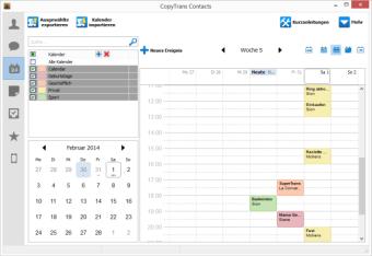 Kalendereinträge auf iPhone