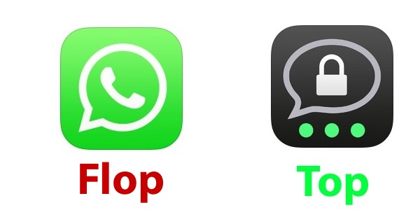 whatsapp alternative Threema