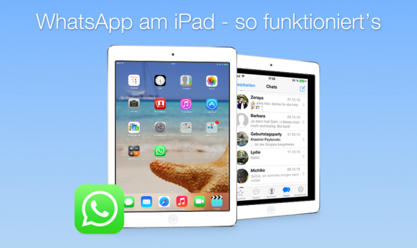 WhatsApp am iPad