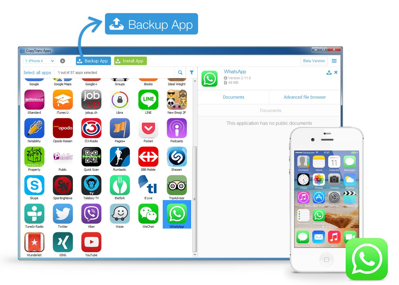whatsapp ipad installieren
