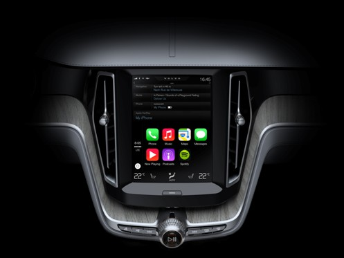 ios carplay xc90