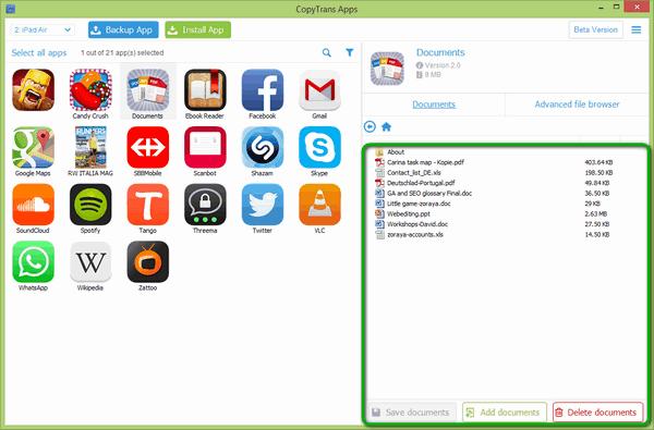 Office Dokumente zum iPad übertragen