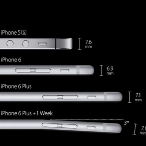 bends6plus 290x290 BendGate: Spott und Hohn für das iPhone 6 Plus
