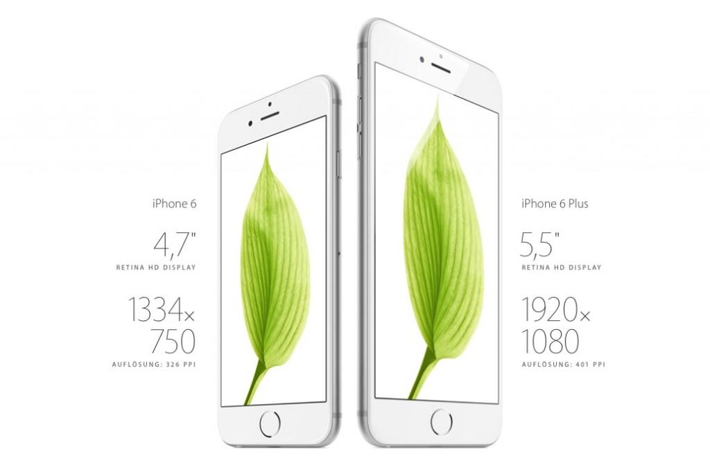 iphone vs rest 1024x684 Das iPhone 6 – Ein Vergleich mit der Konkurrenz