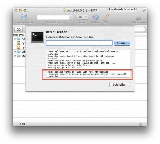 missing 555x500 iOS 8 Pangu Jailbreak Bugfix und Hilfe