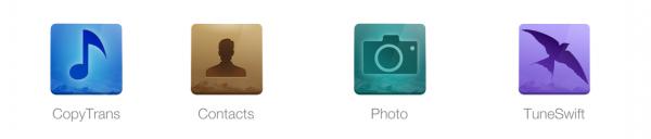 CopyTrans 4Pack für das Sichern und Verwalten von iOS Daten