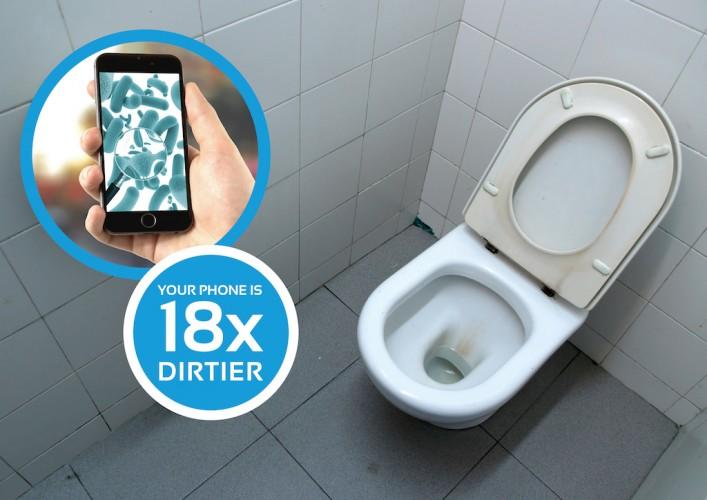 iphone bakterien