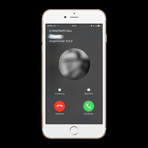 whatsapp iphone tel 500x500 Whatsapp Calls für das iPhone freischalten