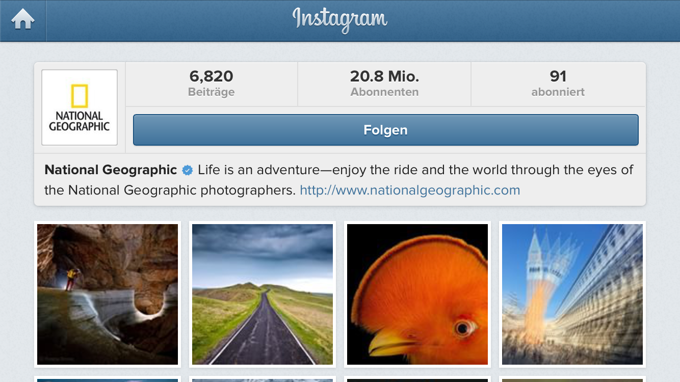 national geographics instagram