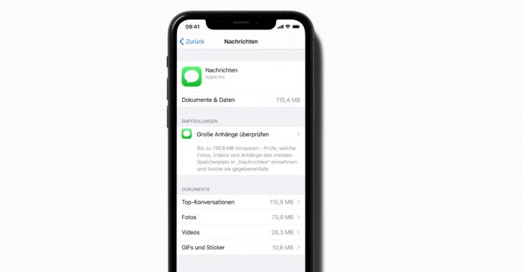 nachrichten-speicher-frei-iphone