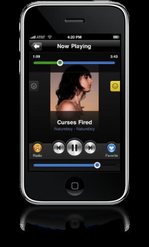 grooveshark 303x500 Grooveshark endlich als iPhone App