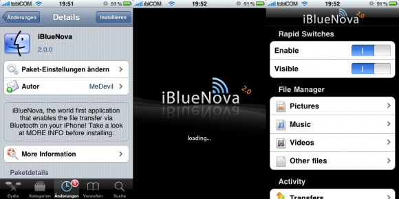 ibluenova 580x290 iBlueNova   iPhone Bluetooth Filesharing