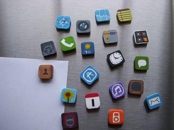 Kühlschrank Magnete : Iphone kühlschrank magnete iphone4ever