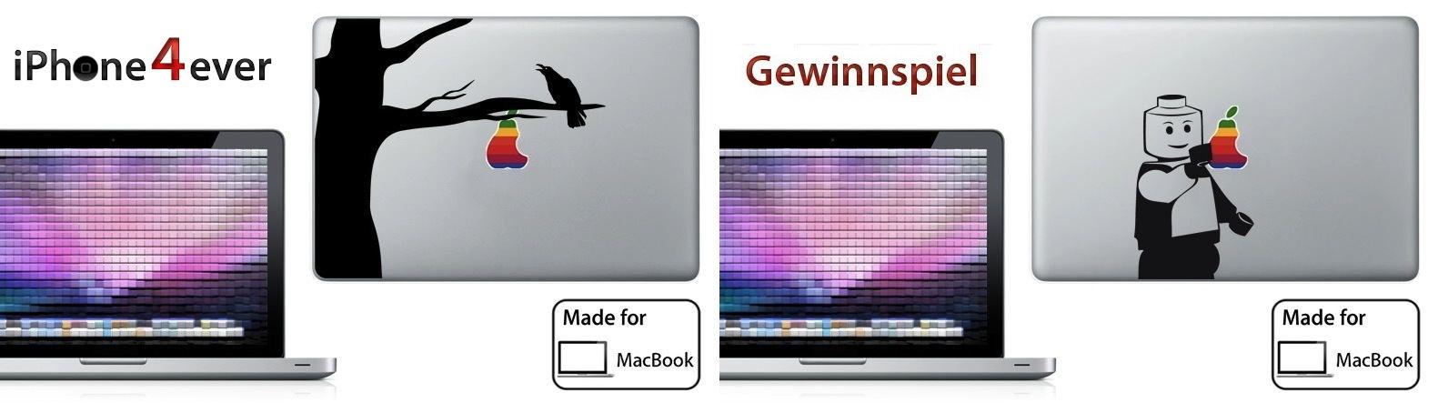 Gewinnspiel Ipad Macbook Aufkleber Von Bluemac Iphone4ever