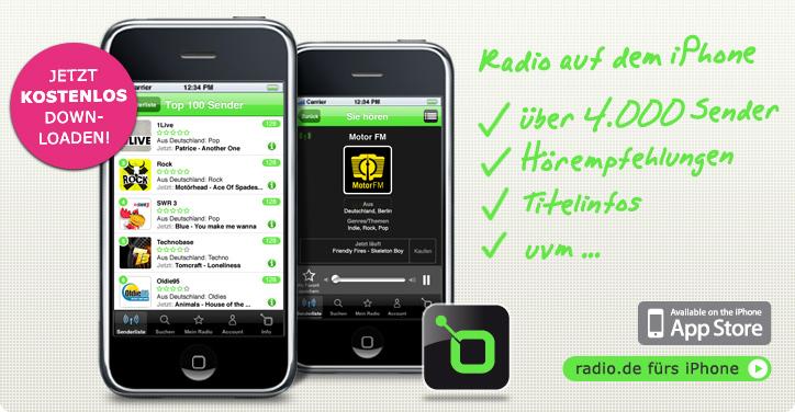 iphone radio kostenlos