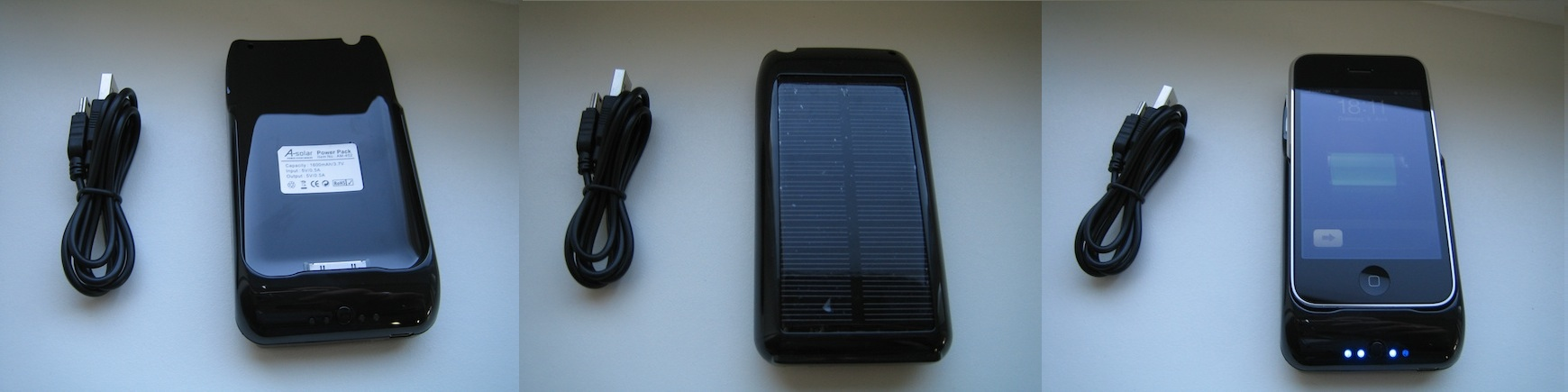 iphone solar akku im test iphone4ever. Black Bedroom Furniture Sets. Home Design Ideas
