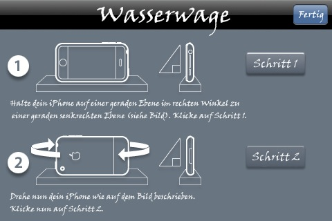kostenlose iphone wasserwaage spiritlevel iphone4ever. Black Bedroom Furniture Sets. Home Design Ideas